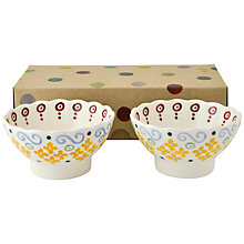 Buy Emma Bridgewater Polka Dots Fluted Bowls, Set of 2 Online at johnlewis.com