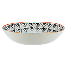 Buy John Lewis Bedouin Serve Bowl, Orange Online at johnlewis.com