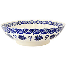 Buy Emma Bridgewater Blue Hen & Border Fluted Bowl Online at johnlewis.com