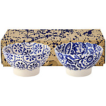 Buy Emma Bridgewater Blues Fluted Bowls, Set of 2 Online at johnlewis.com