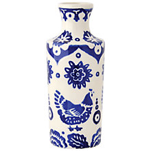 Buy Emma Bridgewater Blue Hen & Border Ink Vase Online at johnlewis.com