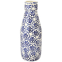 Buy Emma Bridgewater Cobolt Daisy & Spot Milk Bottle Online at johnlewis.com