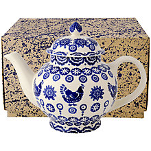 Buy Emma Bridgewater Blue Hen & Border Teapot Online at johnlewis.com