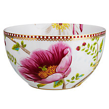 Buy PiP Studio Chinese Garden Bowl, White Online at johnlewis.com