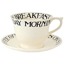 Buy Emma Bridgewater Polka Dot Large Saucer Online at johnlewis.com