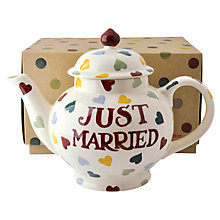 Buy Emma Bridgewater Just Married Teapot Online at johnlewis.com