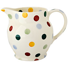 Buy Emma Bridgewater Polka Dot Jug, 0.9L Online at johnlewis.com