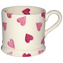 Buy Emma Bridgewater Pink Hearts Baby Mug Online at johnlewis.com