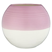 Buy Royal Doulton 1815 Bight Colours Vase, Pink/White Online at johnlewis.com