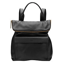 Buy Whistles Verity Large Backpack, Black Online at johnlewis.com