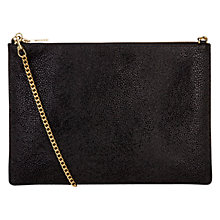 Buy Whistles Rivington Stingray Chain Clutch Online at johnlewis.com