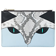 Buy Whistles The Cat Small Clutch Bag, Multi Online at johnlewis.com