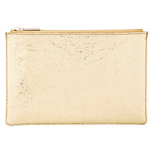 Buy Whistles Small Cracked Leather Clutch Online at johnlewis.com