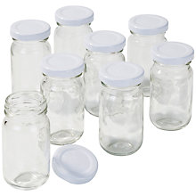 Buy Talking Tables Blossom & Brogues Floral Mini Jars, Set of 8 Online at johnlewis.com