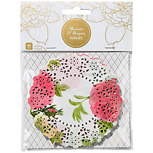 Buy Talking Tables Floral Doilies, Pack of 100 Online at johnlewis.com