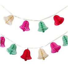 Buy Talking Tables Honeycomb Bell Garland Online at johnlewis.com