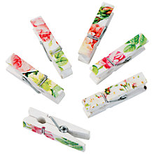 Buy Talking Tables Blossom & Brogues Floral Pegs Online at johnlewis.com
