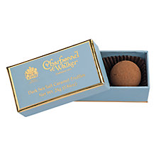 Buy Charbonnel et Walker Dark Sea Salt Caramel Truffles, 24g Online at johnlewis.com