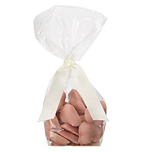 Buy Cocoa Loco Vanilla and Raspberry White Chocolate Hearts, 100g Online at johnlewis.com