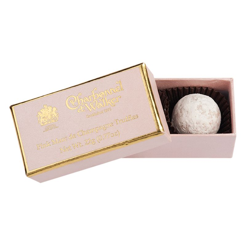 Personalised Wedding Gifts John Lewis : Buy Charbonnel et Walker Pink Marc de Champagne Truffles, 22g Online ...