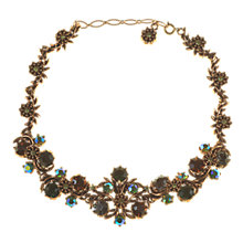 Buy Alice Joseph Vintage Miracle Floral Necklace, Gold Online at johnlewis.com