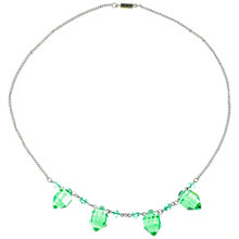 Buy Alice Joseph Vintage 1930s Art Deco Crystal Bead Necklace, Green Online at johnlewis.com