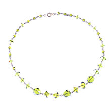 Buy Alice Joseph Vintage 1930s Crystal Bead Necklace, Peridot Online at johnlewis.com