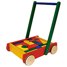 Buy Pintoy Baby Walker & 24 Blocks Online at johnlewis.com