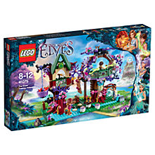 Buy LEGO Elves The Elves' Treetop Hideaway Online at johnlewis.com