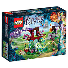 Buy LEGO Elves Farran and the Crystal Hollow Online at johnlewis.com