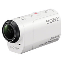 Buy Sony HDR-AZ1 Action Cam Mini Camcorder, HD 1080p, 11.9MP, Wi-Fi, NFC, GPS Waterproof Case and Live View Remote Online at johnlewis.com