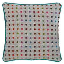 Buy Bronte by Moon Gargrave Spot Cushion, Multi Online at johnlewis.com