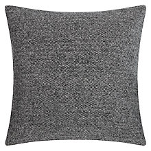 Buy Bronte by Moon Herringbone Cushion, Grey Online at johnlewis.com