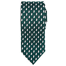 Buy John Lewis Monty & Mabel Penguin Silk Tie Online at johnlewis.com