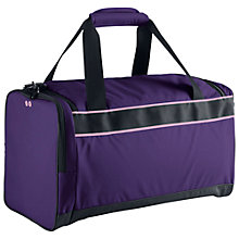 Buy Nike Varsity Duffle Bag, Purple Online at johnlewis.com
