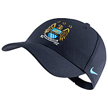 Buy Nike Manchester City Supporter's Cap, One Size, Blue Online at johnlewis.com