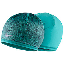 Buy Nike Running Beanie, Green Online at johnlewis.com