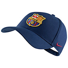 Buy Nike Barcelona Supporter's Cap, One Size, Blue Online at johnlewis.com