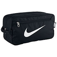 Buy Nike Brasilia Shoe Bag, Black Online at johnlewis.com
