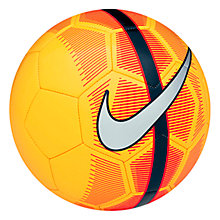Buy Nike Mercurial Fade Football, Size 5, Orange Online at johnlewis.com