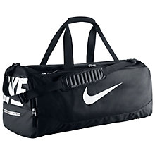 Buy Nike Team Training Max Air Bag, Medium, Black Online at johnlewis.com