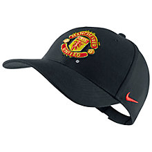 Buy Nike Manchester United Supporter's Cap, Red Online at johnlewis.com