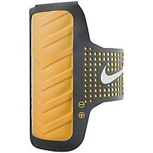 Buy Nike Vapor Flash Running Armband, Black/Volt Online at johnlewis.com