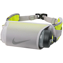 Buy Nike Storm 22oz Hydration Waistpack, Silver Online at johnlewis.com
