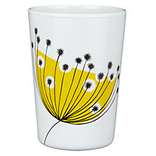 Buy MissPrint Dandelion Mobile Picnic Beaker, Yellow Online at johnlewis.com
