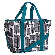 Buy MissPrint Little Trees Shoulder Cool Bag, Blue Online at johnlewis.com