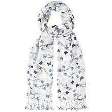 Buy White Stuff Blossom Butterfly Scarf, Teal Online at johnlewis.com