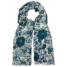 Buy White Stuff Winter Scene Scarf, Off White Online at johnlewis.com