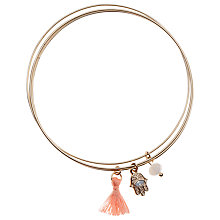 Buy Orelia Hamza Charm Bangle Set Online at johnlewis.com