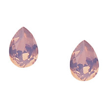 Buy Orelia Swarovski Teardrop Earrings Online at johnlewis.com